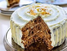 Spelt No Added Sugar Carrot Cake