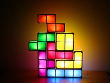 DIY USB Tetris Stackable LED Light. Cool!