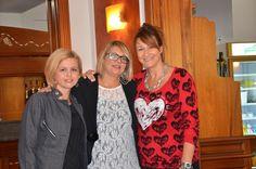 Cristina, Giovanna, e  Sabrina della Commissione Sanitaria