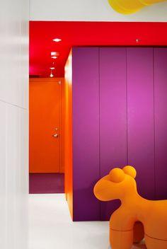 Prismatic Colours, Montreal, 2011 by Jean Verville Architecte