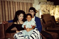 Emmanuel, Latoya and Michael ;) He always loved babies and all children of the world ღ by ⊰@carlamartinsmj⊱