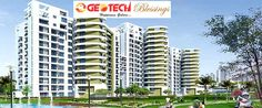 The Gotech Blessings Noida is having fewer prices as compared to other properties. A person can get a 2 BHK apartment within Rs.30 Lacs and can book it within Rs.50000 only.  http://www.geotechblessingsnoida.in/