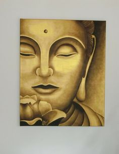 Buddha, Gemälde, Ölbild  von artes4you auf DaWanda.com