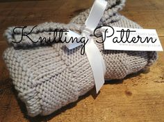 Knitting Pattern - Chunky Checks Baby Blanket - Debbie Bliss Rialto Chunky yarn - Instant Download on Etsy, $4.77 CAD