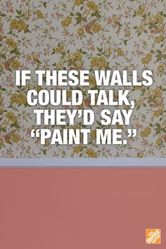 Removing that outdated wallpaper from your home is easier than you think with the right tools and tips from The Home Depot. Click-through for paint ideas and how-to guides!