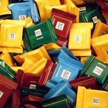 Ritter Sport Quadretties, 5g