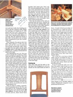 Cherry Dining Chair Plans - Furniture Plans and Projects - Woodwork, Woodworking, Woodworking Plans, Woodworking Projects Dinning Chairs, Dining, Woodworking Plans, Woodworking Projects, Furniture Plans, Cherry, How To Plan, Chairs, Dining Chairs