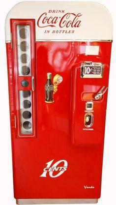 1957 Vendo 81 Coca Cola Machine -