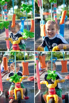 Have I got the best summer project for you over on Design Mom! It's a tricycle car wash made of PVC pipe and it's provided hours and hours of fun! It's like water heaven for the little ones. I had never worked with PVC before and was nervous so I begged my friends to help. …