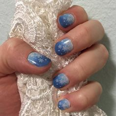 Let It Snow - My favorite Jamicure, yet!  marisawildrick.jamberrynails.net