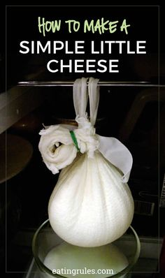 Make your own cheese at home with this simple recipe