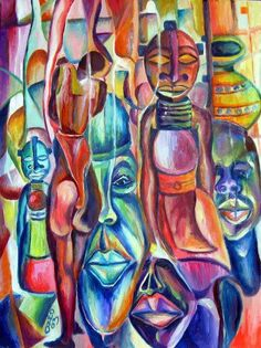 African art by Ozed Omigie https://m.facebook.com/pages/Ozeds-art/151417574915742