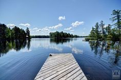 Relax on the dock over looking the lake!