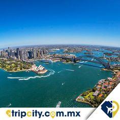 Nos mandaron esta hermosa foto de #Sidney , #Australia . ¡Está increíble! #Foto #travel #viajero #altura #vista #paraÍso #Travelpidia #traveler