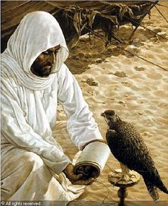 Arab Falconer