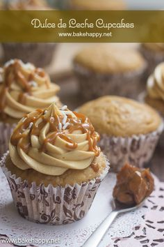 These Dulce de Leche Cupcakes are definitely out of this world! With a rich, sweet, creamy taste, these milky caramel cupcakes will surely will your heart.