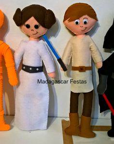 Princesa Leia e luke skywalker