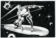 Silver Surfer  john buscema