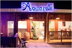 Aquarelle in Boonville small plates and great local wines, stop on your way to The Elk Cove Inn on hwy 128