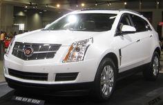 2012 Cadillac SRX, love this car! I wish I could win it!!!!