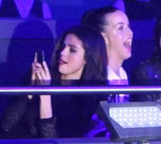Katy Perry and Selena Gomez watch Britney Spears' first show in Las Vegas