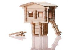 Pine Wood Building Blocks (Treehouse)