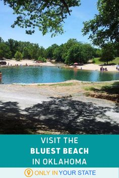 You'll love the crystal blue water at this Oklahoma park. The beautiful beach is perfect for family fun in the summer. Best Swimming, Swimming Holes, Family Trips, Family Travel, Vacation Trips, Vacations, Cool Places To Visit, Places To Go, Best Bucket List