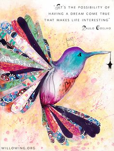 wow. hummingbirds are my spiritual animal. LOVE!