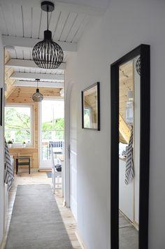 Erdei Kisház projekt teljesítve | juditu Wooden House, Ceiling Lights, Mirror, Furniture, Home Decor, Tips, Decoration Home, Room Decor, Mirrors