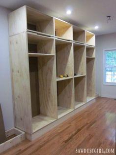 Trendy master closet diy built ins storage ideas Garage Storage Cabinets, Built In Cupboards, Shoe Cabinets, Diy Cabinets, Bedroom Cabinets, Best Closet Organization, Closet Storage, Organization Ideas, Diy Storage