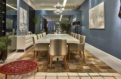 Lounge e Jantar por Fábio Tarossi para Decora Lider Campinas 2015.