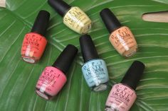 OPI Retro Summer Collection - Review and Swatches