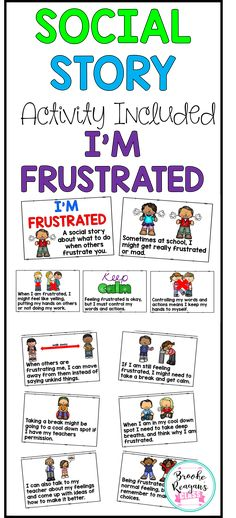 Social Story about what to do when you feel frustrated.