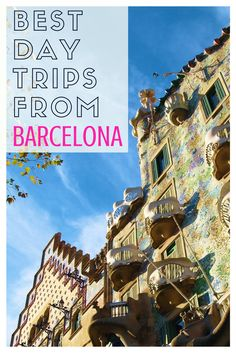 Best Day Trips From Barcelona: Don't miss out on exploring the amazing area surrounding Barcelona! Check out this article and learn about some of the best day trip from Barcelona from travel experts!
