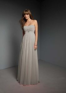 Gray Formal Prom/Bridesmaid Cocktail Party Evening Dress Stock UK Size 12