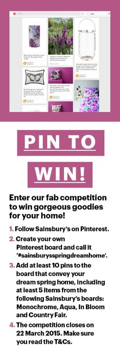Sainsburys competition to win homeware goodies