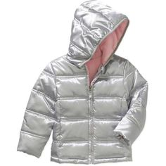Healthtex Baby Toddler Girl Bubble Puffer Jacket