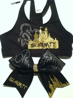 0623d1157c Summit Sports Bra and Bow Goal for