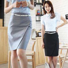 Diane von Furstenberg Silk Blouse & Pencil Skirt Not sure about ...