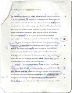 Fact-checking Ray Bradbury  June 6, 2012|by Stephen Andrew Hiltner