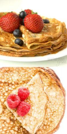 Keto Cream Cheese Pancakes, Cream Cheese Recipes, Low Carb Pancakes, Cheesy Recipes, Low Carb Recipes, Köstliche Desserts, Dessert Recipes, Pancake Recipes, Waffle Recipes