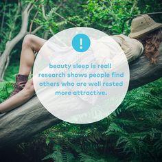 Don't skimp on sleep!