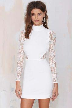 #NastyGal Danica Lace Dress #LWD