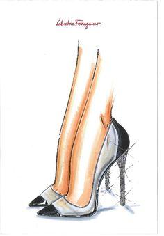 『シンデレラ』×「サルヴァトーレ・フェラガモ(Salvatore Ferragamo)」ガラスの靴