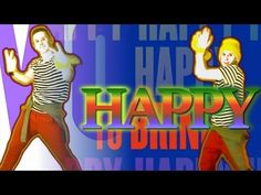 HAPPY by Pharrell Williams (Choreography) / Fanmade Just Dance Kids, Just Dance 2014, Music For Kids, Kids Songs, School Songs, School Videos, Zumba, Brain Break Videos, Broken Video