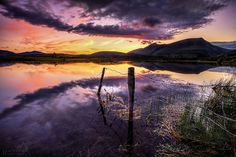***Tewet Sunset (Cumbria, England) by Paul Bullen