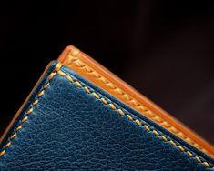 Bespoke hand stitched wallet