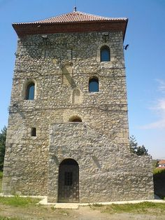 Nenadović Tower in Valjevo, Serbia, built in the early 19th century, was initially used by rebels during the First Serbian Uprising.  Later, Ottomans used it as a prison.  by Boksi