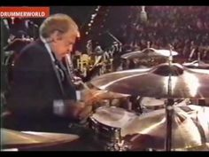An insane drum solo by Buddy Rich at the Concert of the Americas