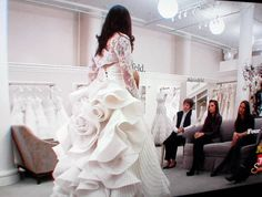 Bridal Gowns Pnina Tornai A Line Wedding Dress Back Of Other 3 Id Like To Add Fluff Make It Bigger